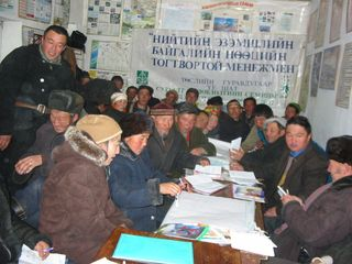 Bij kader over mongolie