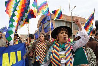 2009.7-Advocacy-L.A. Indigenous Congress-Puno.Peru