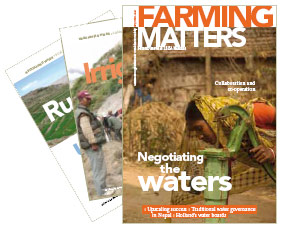 Farming Matters - Negotiating the waters