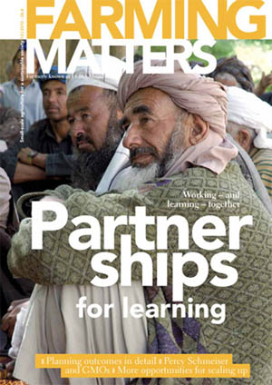 Farming Matters - Partnership for learning - 26/4